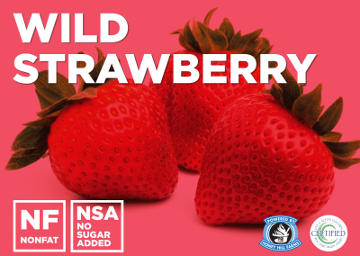 Wild Strawberry No Sugar Added