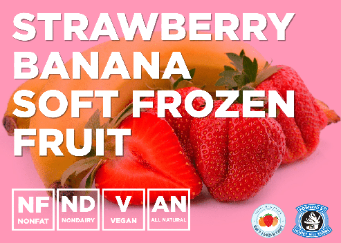 Strawberry and Banana Frozen Fruit