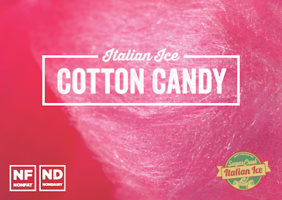 Cotton Candy Italian Ice