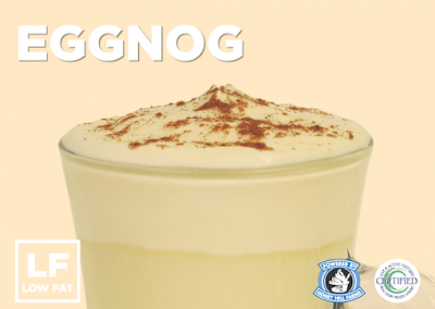 Egg Nog Low Fat Frozen Yogurt