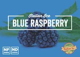 Blue Raspberry Italian Ice